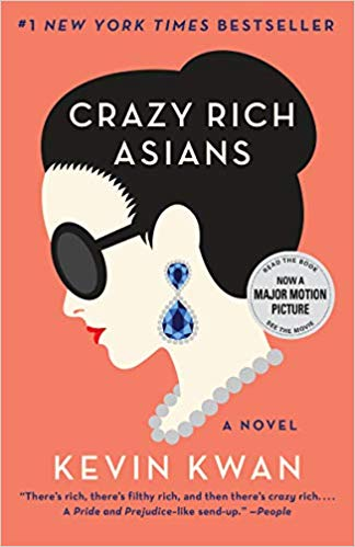 CRAZY RICH ASIANS - by Kevin KwanWhen New Yorker Rachel Chu agrees to spend the summer in Singapore with her boyfriend, Nicholas Young, she envisions a humble family home and quality time with the man she hopes to marry. But Nick has failed to give his girlfriend a few key details. One, that his childhood home looks like a palace; two, that he grew up riding in more private planes than cars; and three, that he just happens to be the country's most eligible bachelor. On Nick's arm, Rachel may as well have a target on her back the second she steps off the plane, and soon, her relaxed vacation turns into an obstacle course of old money, new money, nosy relatives, and scheming social climbers.SHOPAMAZON | BARNES & NOBLES | ITUNES