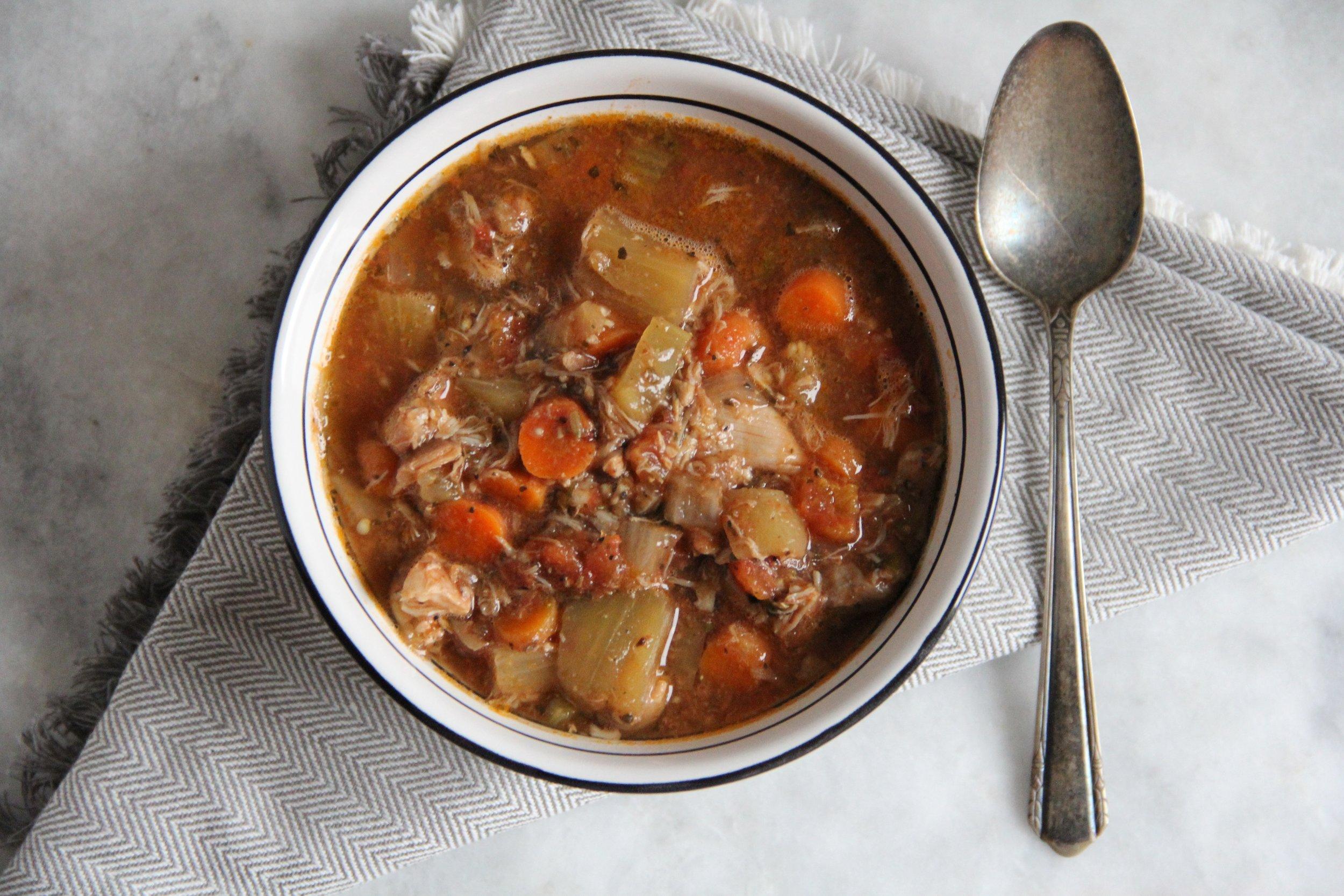 crockpot chicken soup