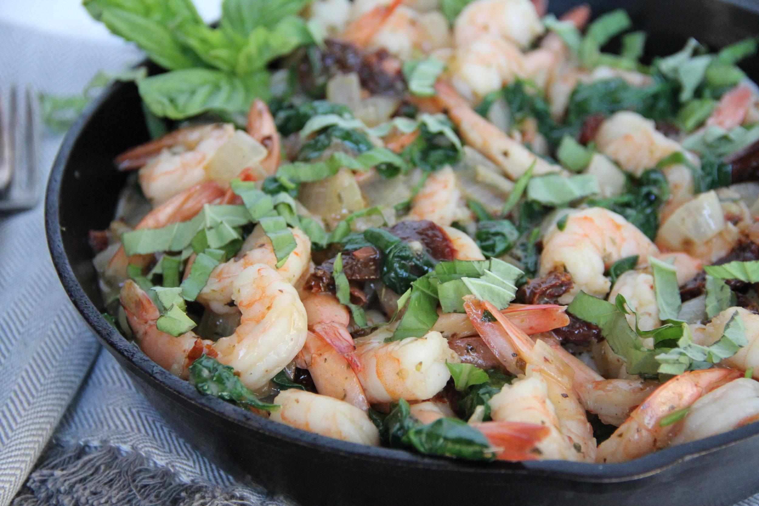 Tuscan Shrimp