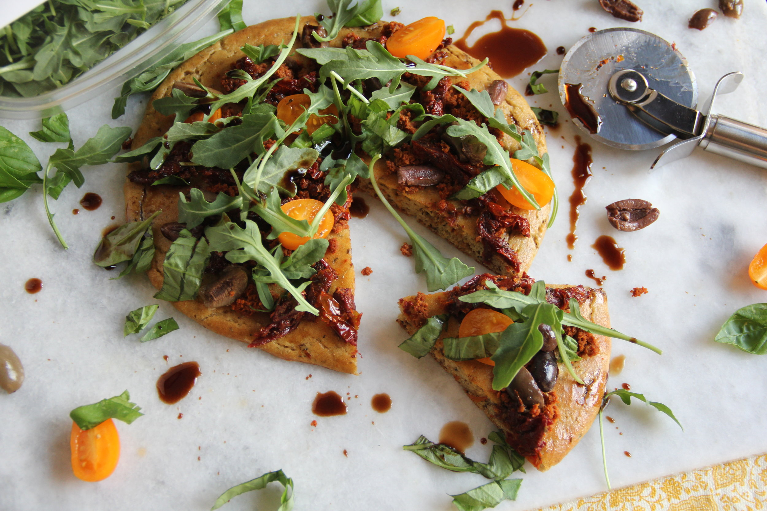Paleo Flatbread Pizza