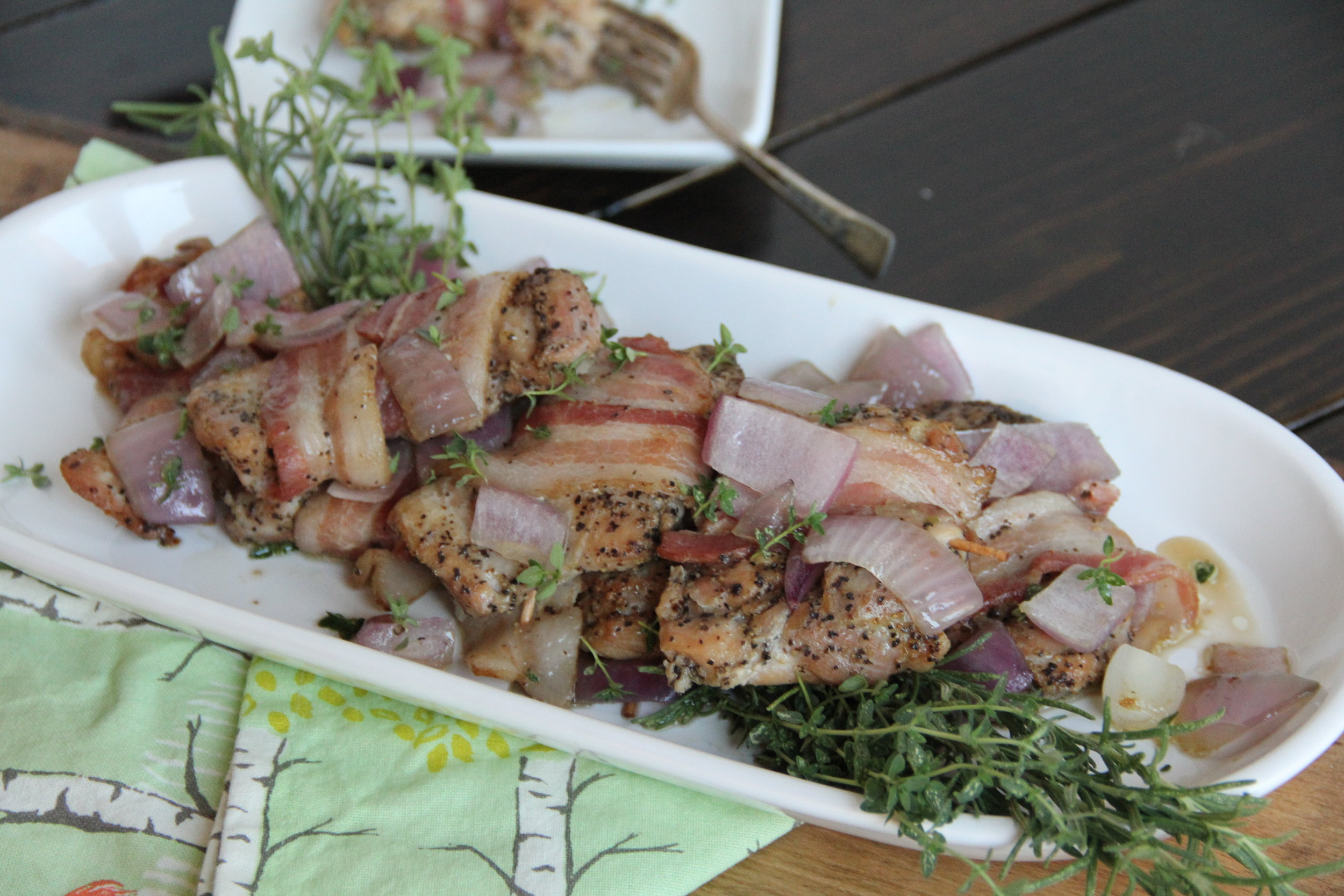 bacon wrapped chicken 2