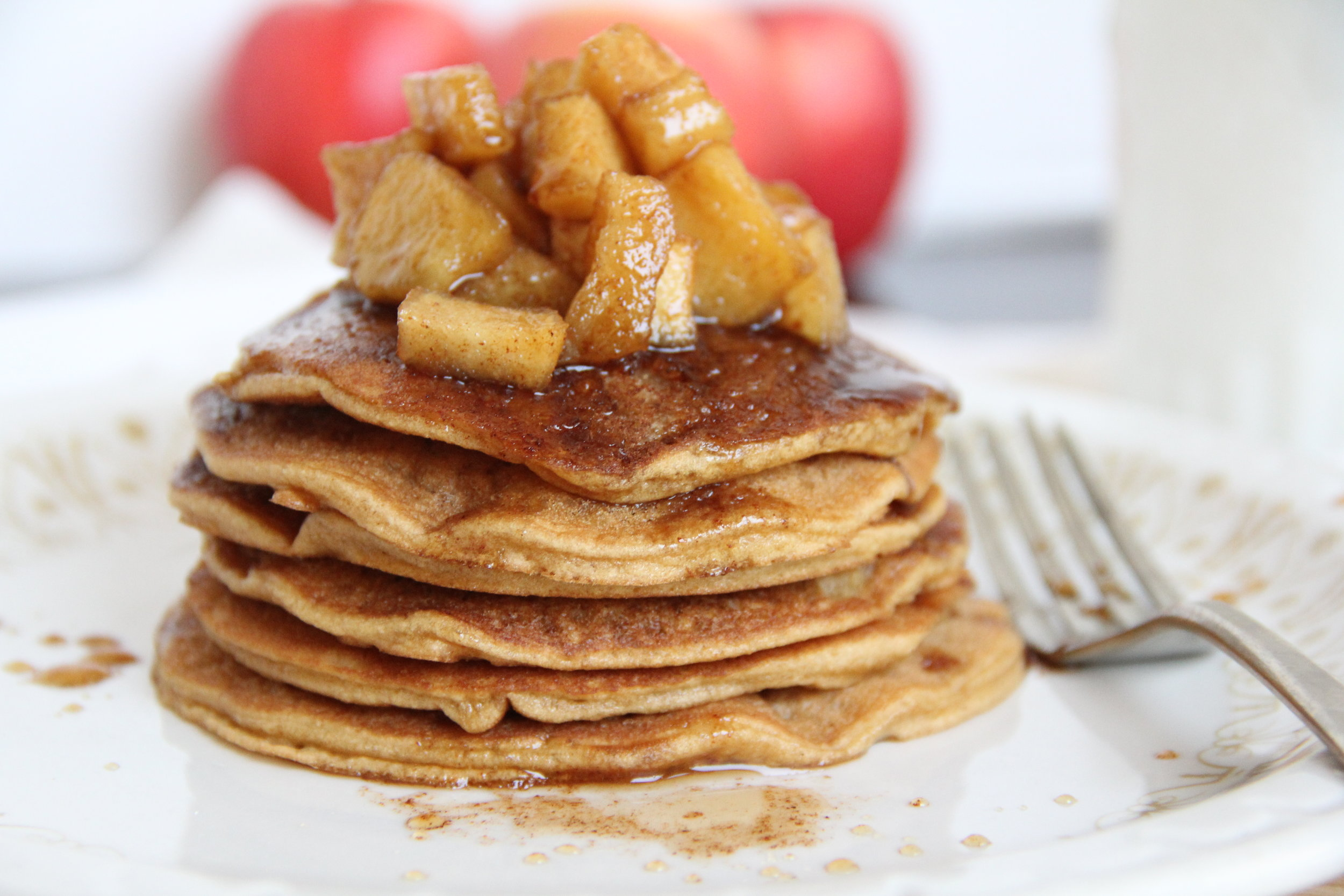 pancakes apple