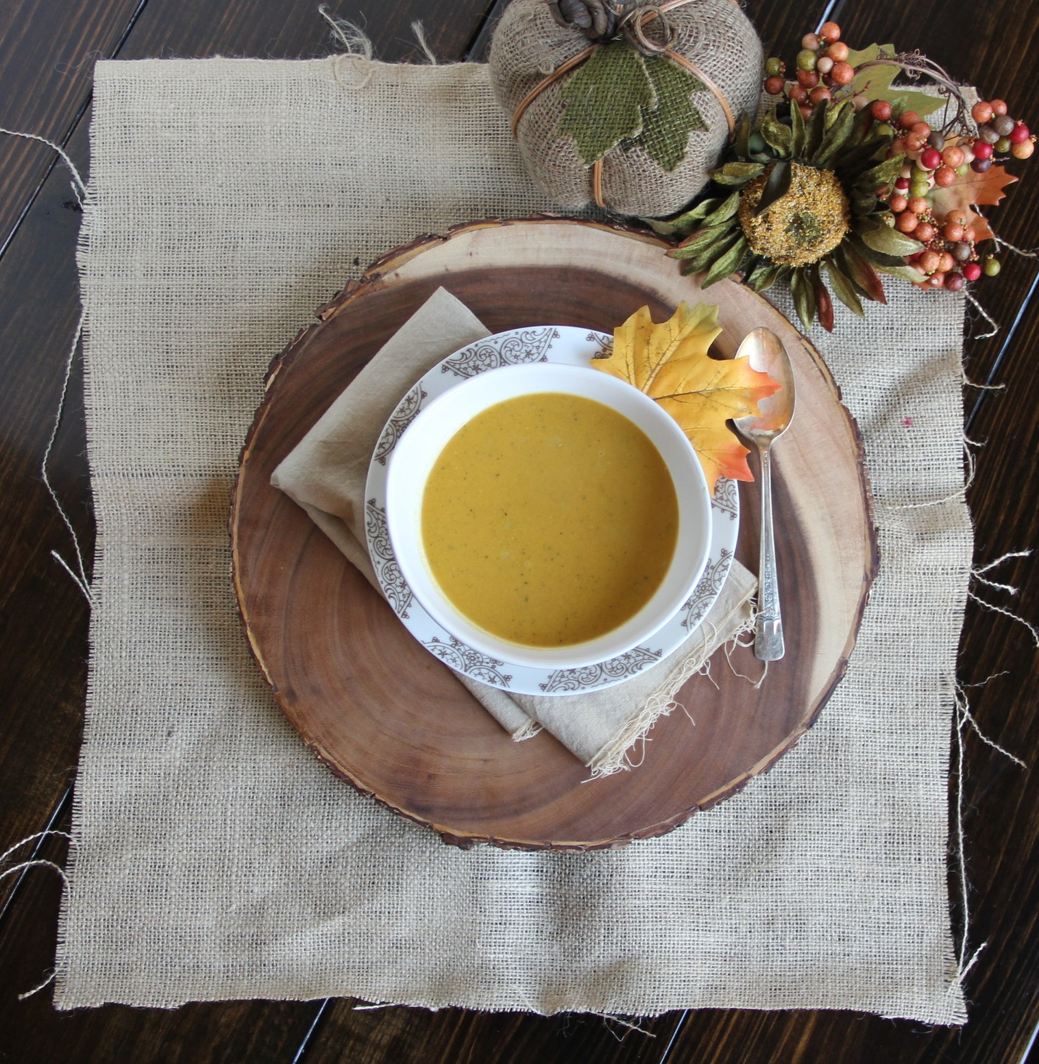 Pumpkin & Squash Soup