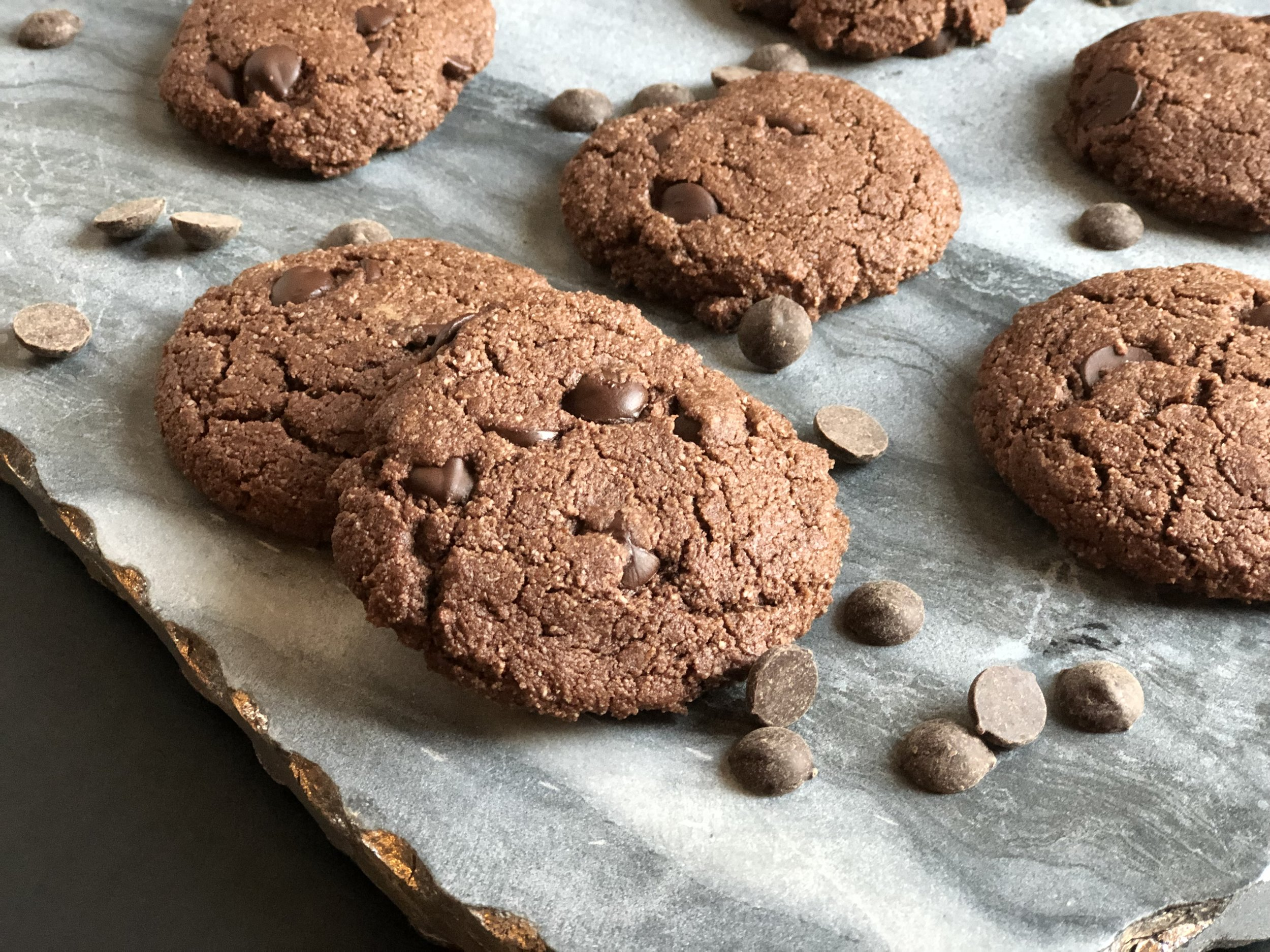 Double Chocolate Chip Peppermint Cookies Cara Price