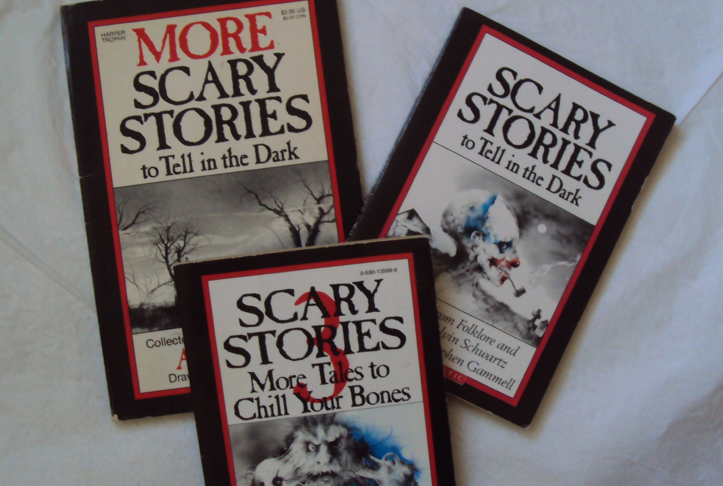 Scary Stories to Tell in the Dark books