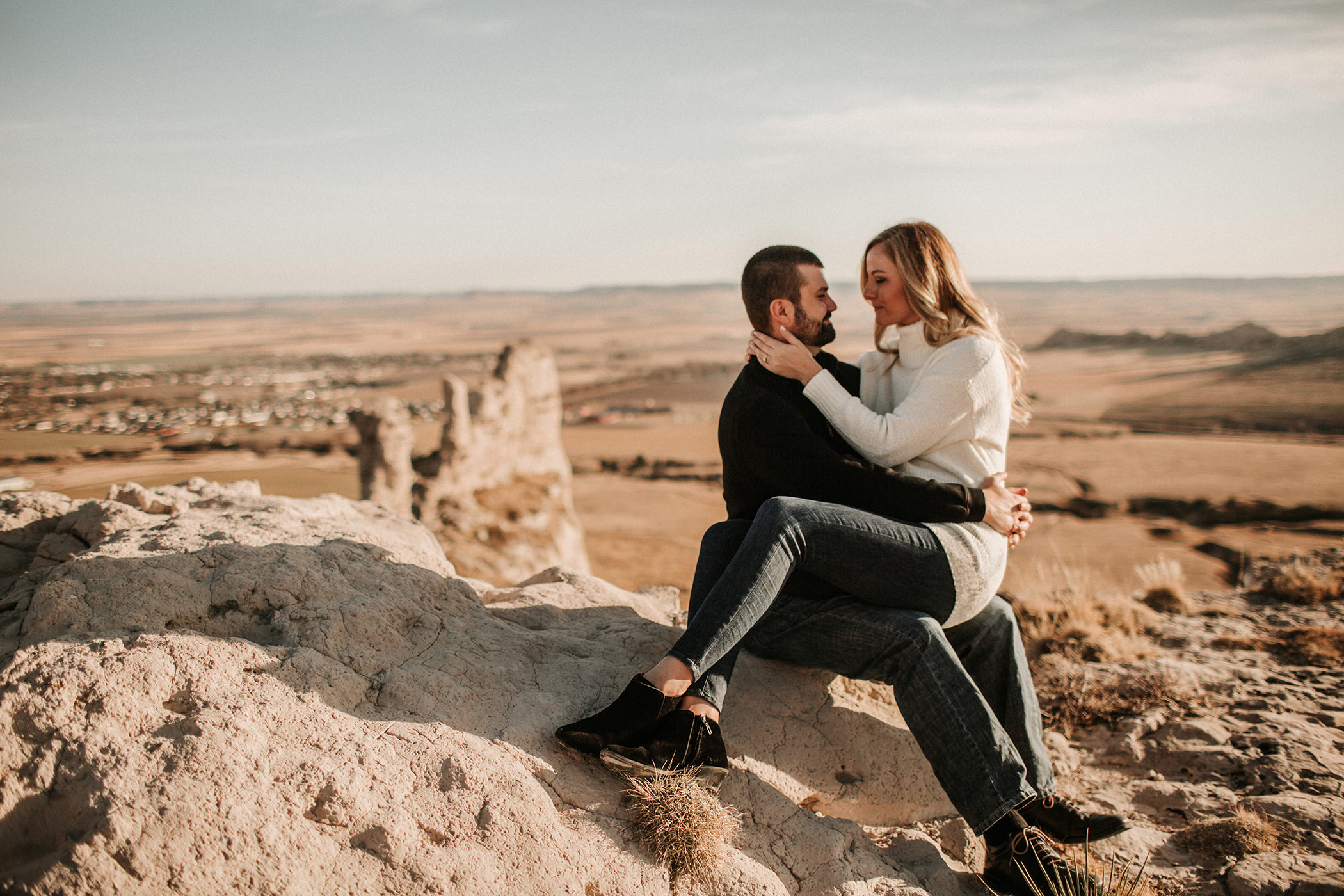 Nebraska Wyoming Engagement Liz Osban Photographer