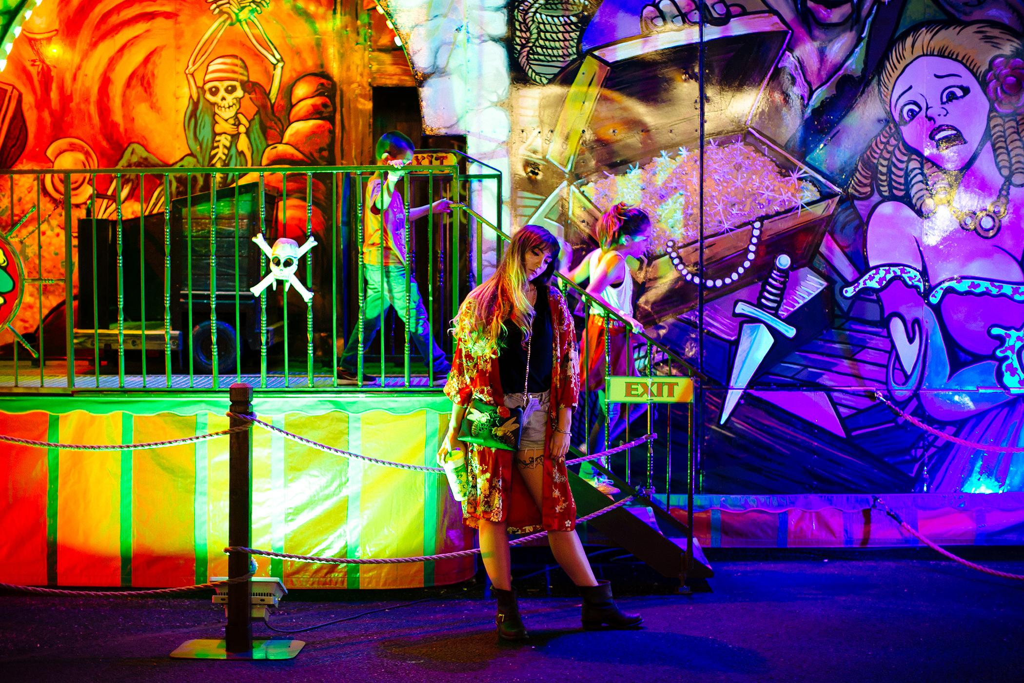 cheyenne frontier days carnival alyssa grace edwards liz osban photography wyoming fair ferris wheel