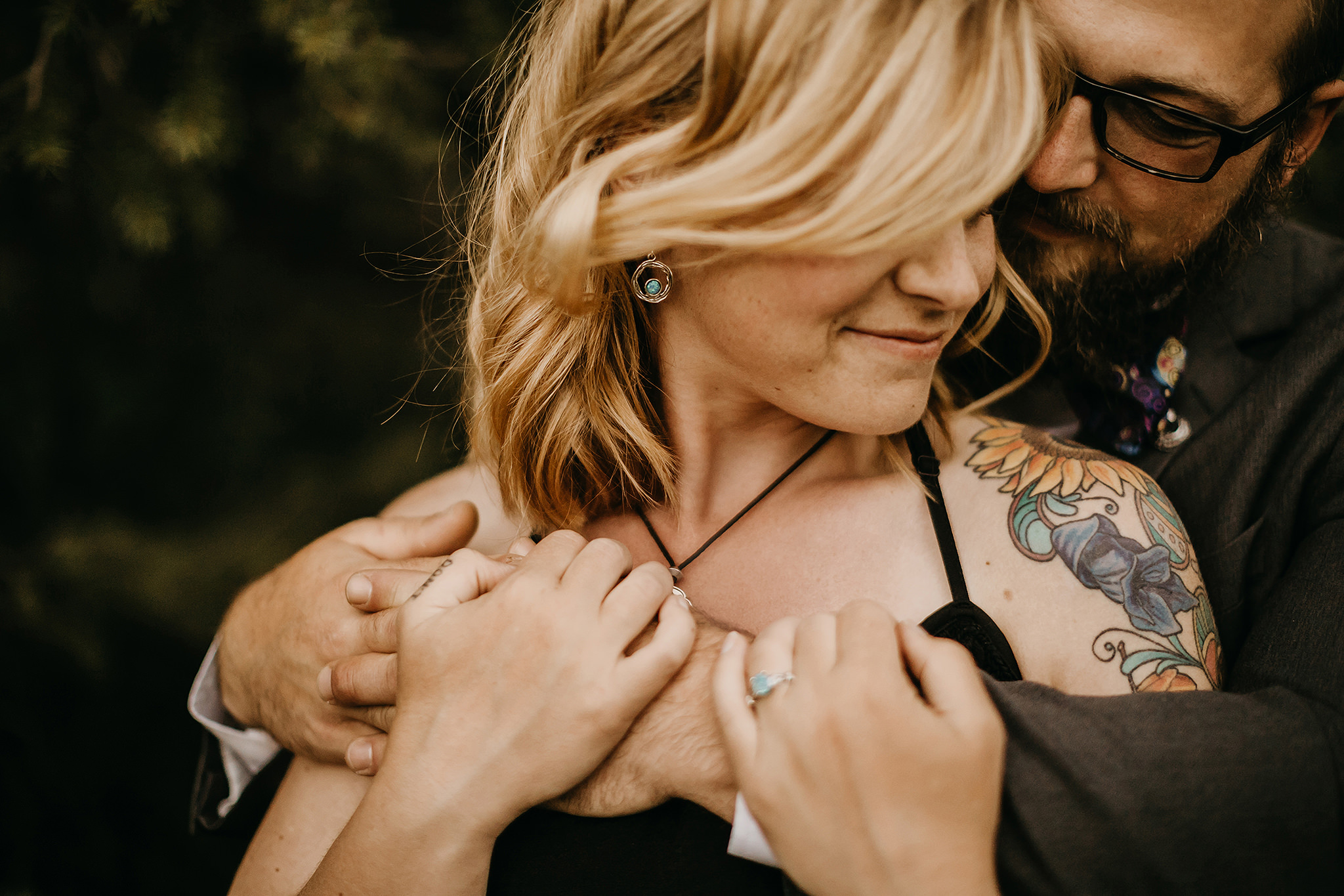 Whitney + Wesley Engagement Cheyenne Wyoming Photographer Liz Osban Photography Vedauwoo Colorado Wedding