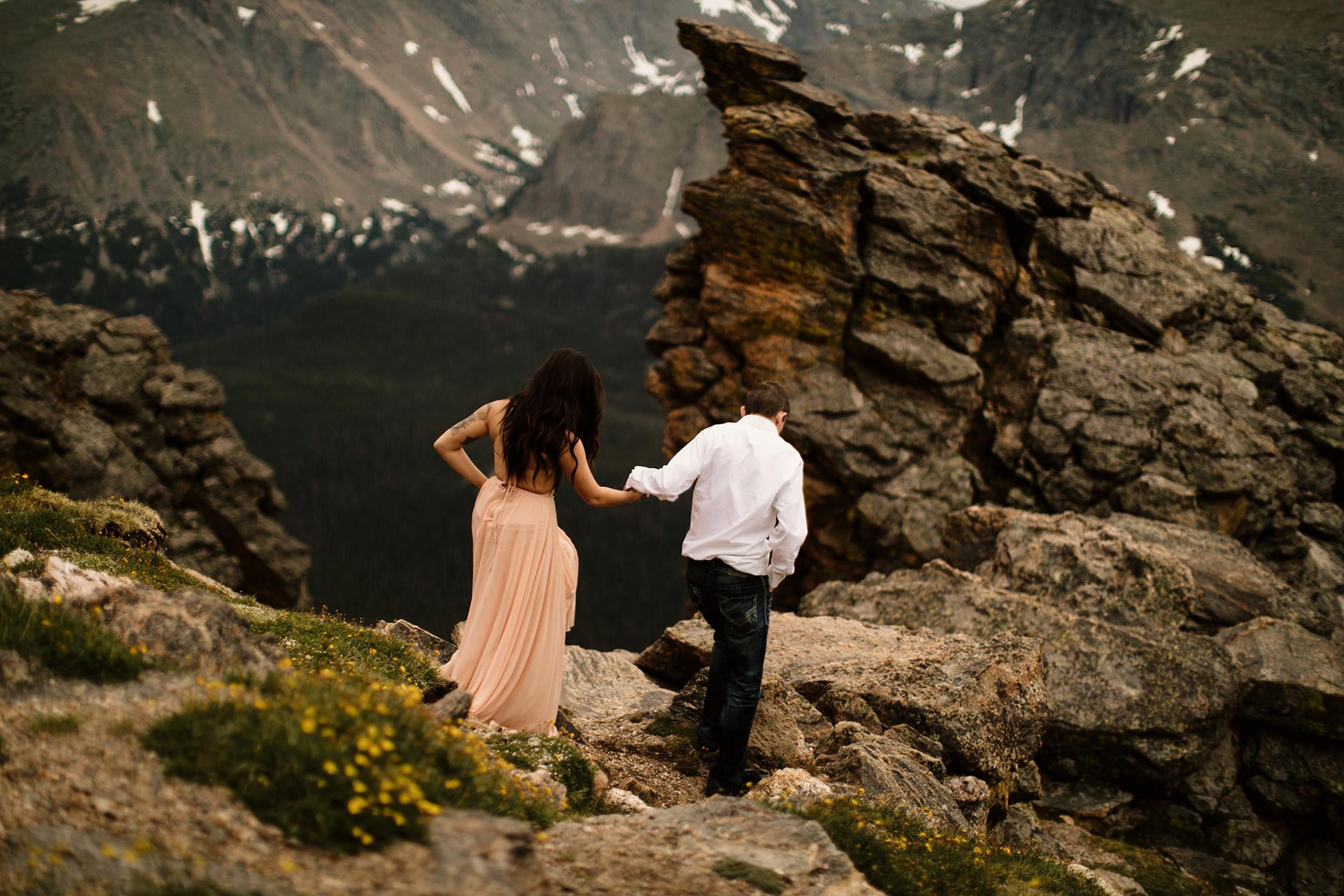rocky mountain national park photoshoot session photography photographer liz osban colorado engagement elopement love couples film wyoming adventure wedding adrianna devin riekens