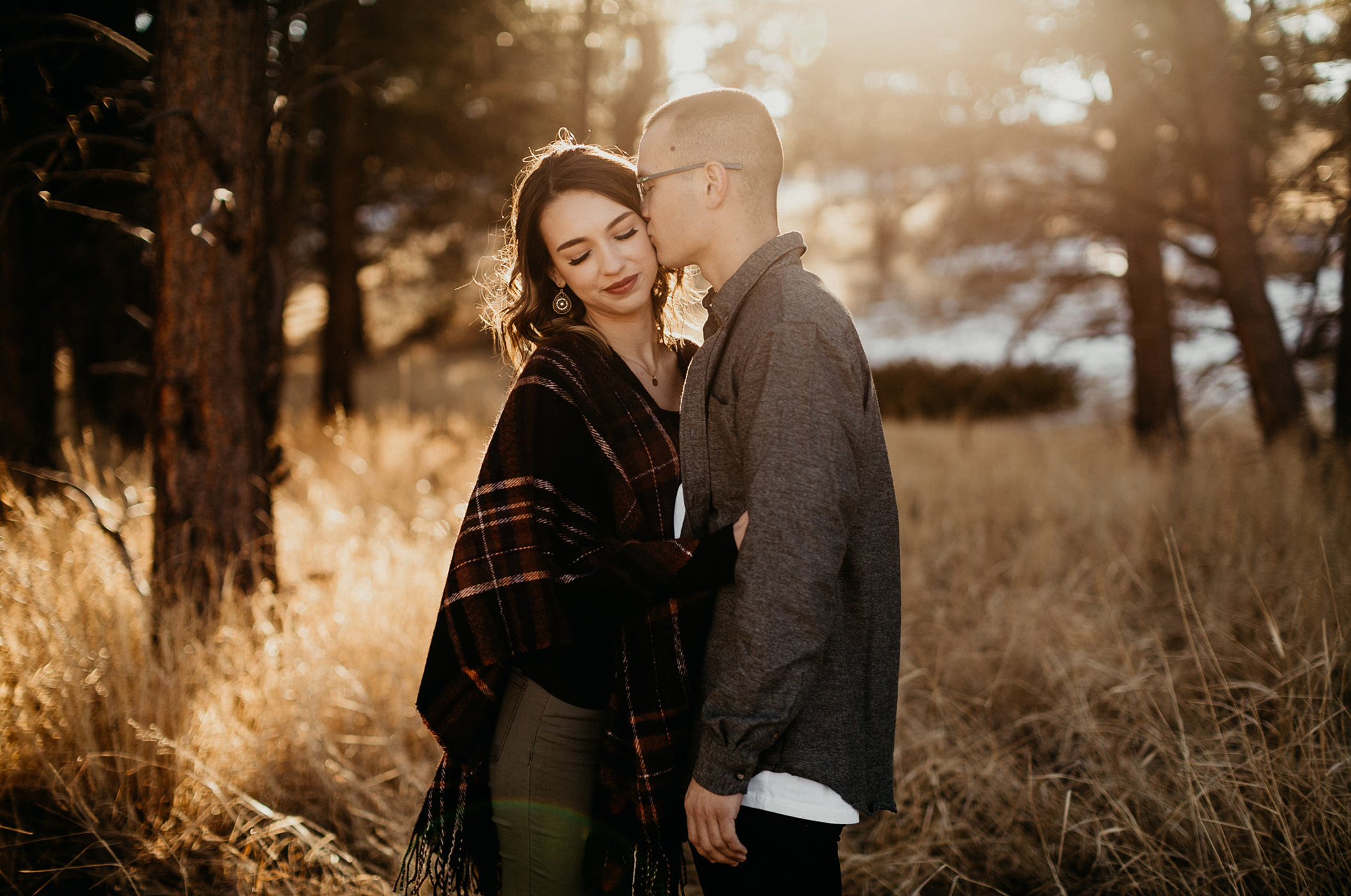Rocky Mountain National Park Wedding Elopement Photographer Adventure Couples Portraits Best Estes Park Colorado Wyoming Mountain Liz Osban Photographer Engagement