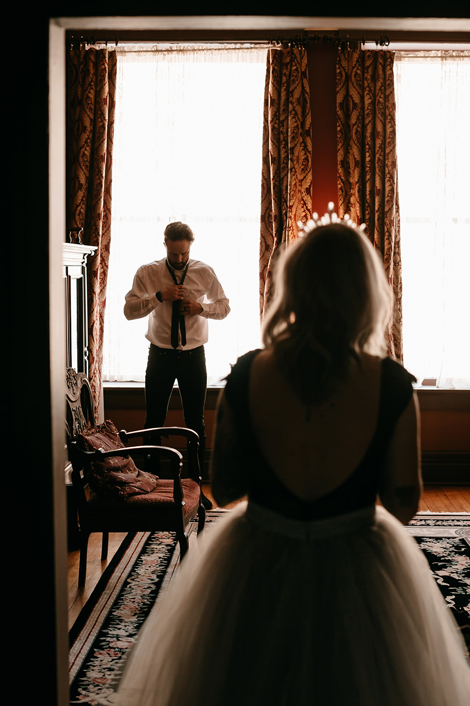 Liz Osban Photography Wedding Elopement Eloped engaged engagement couples session photographer deadwood south dakota wyoming beautiful vintage moody colorado mountains vintage best vintage lease martin mason hotel 35.jpg