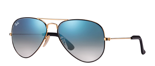 Aviator At Collection Gold/Light Blue Gradient
