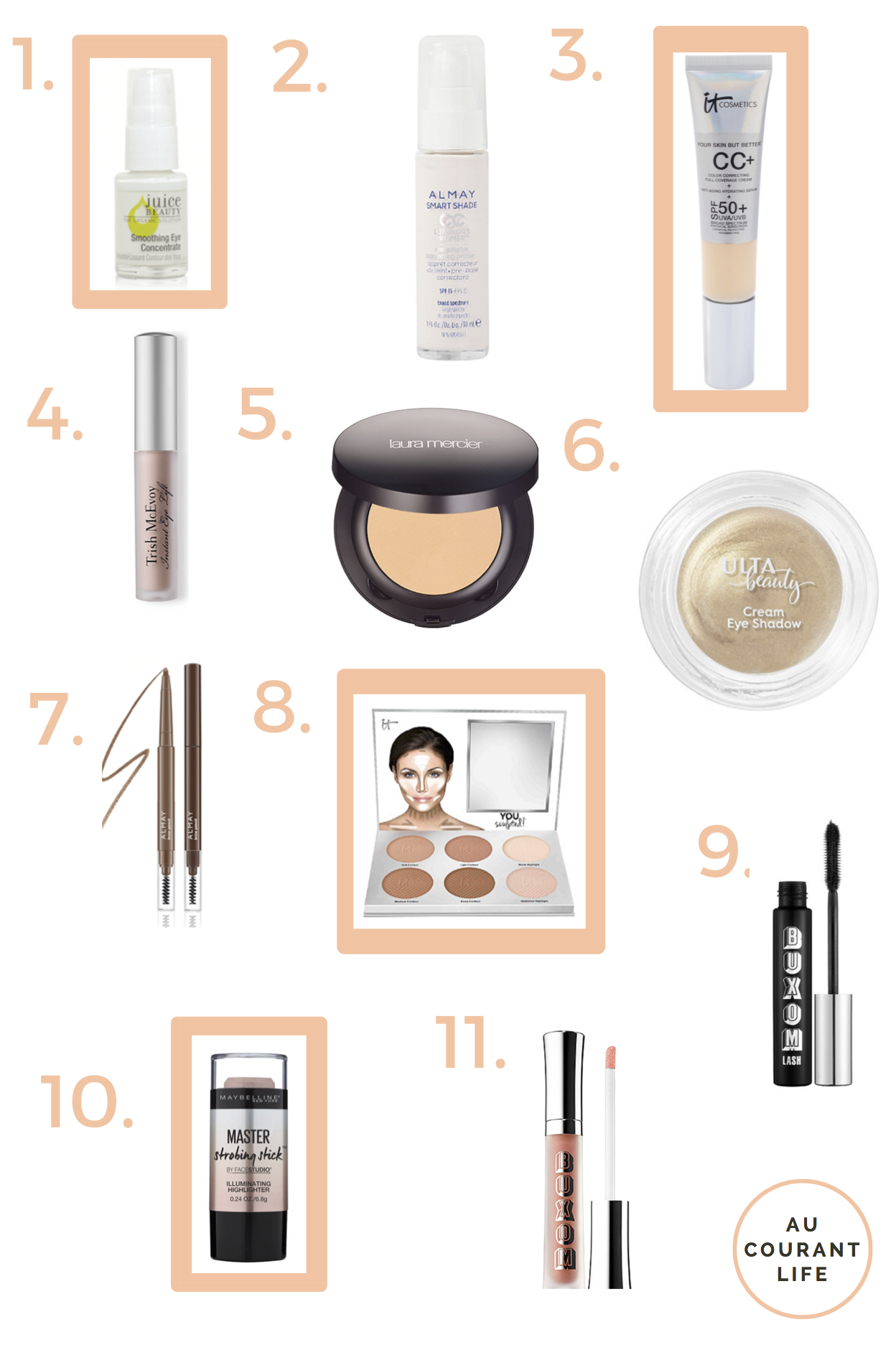 My Everyday Makeup Routine & Products — Au Courant Life