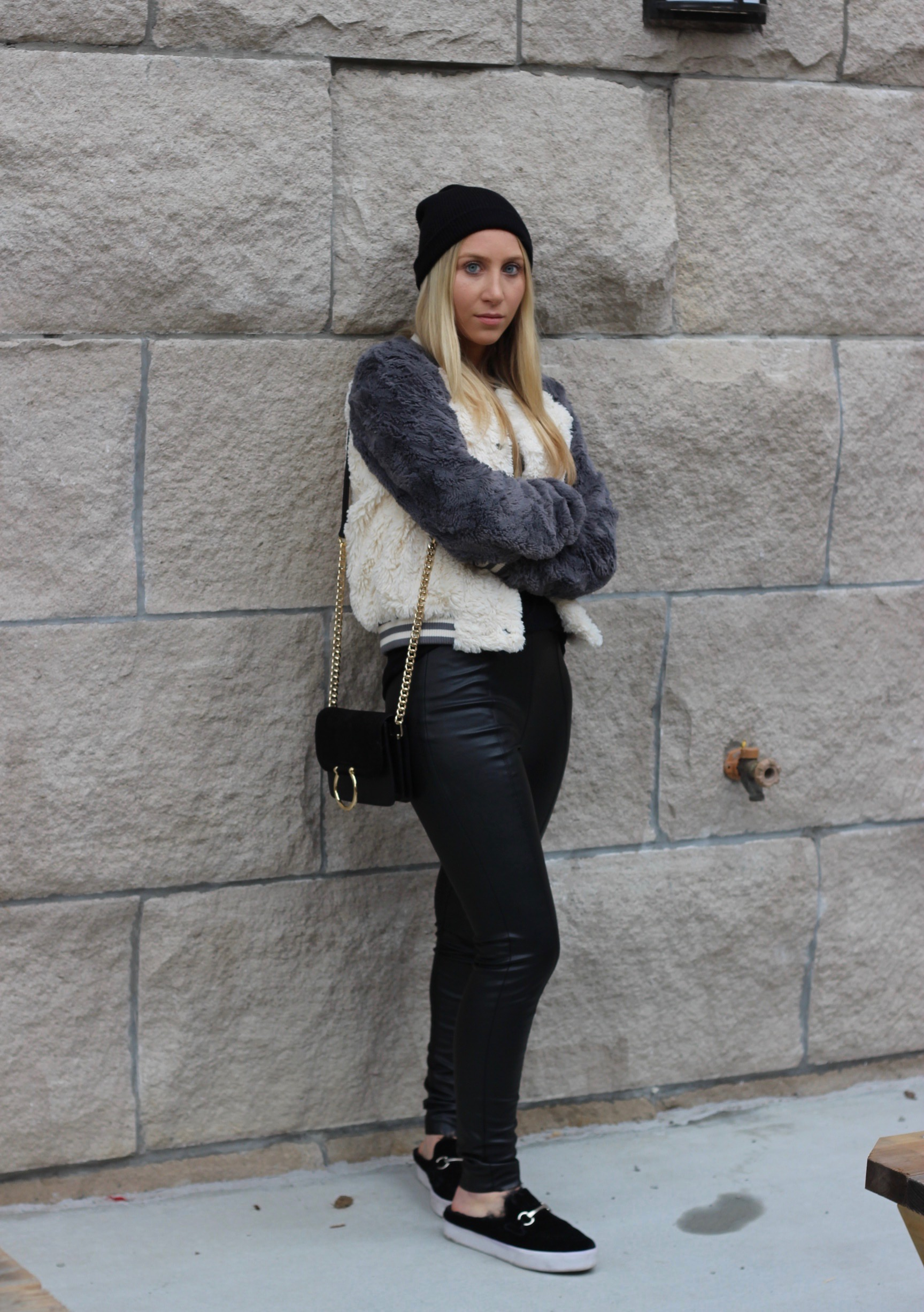 Cute and comfy winter style by Au Courant Life