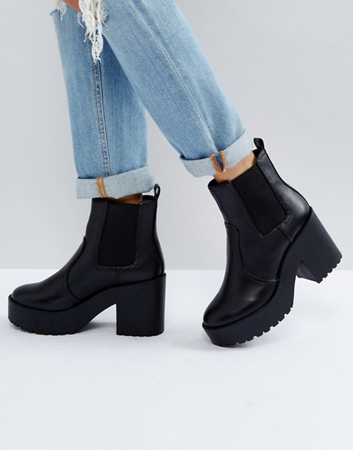 Platform Comfortable Chunky Boots
