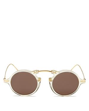 Illesteva Roma Ii Round Sunglasses, 46mm