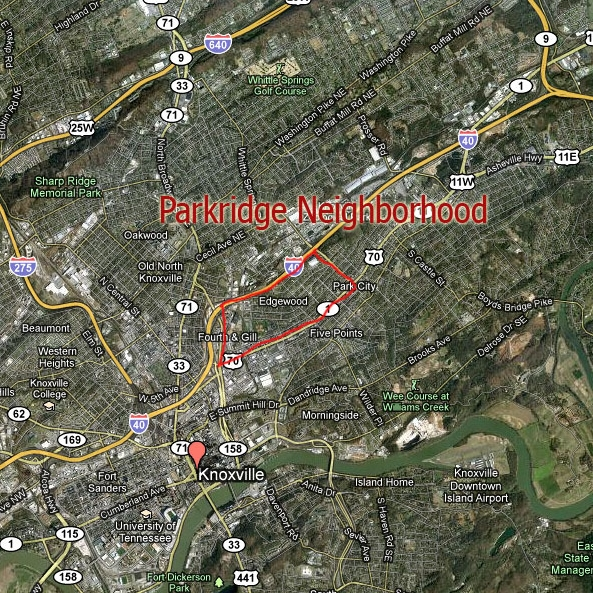 Map courtesy of  First Neighborhoods Realty .