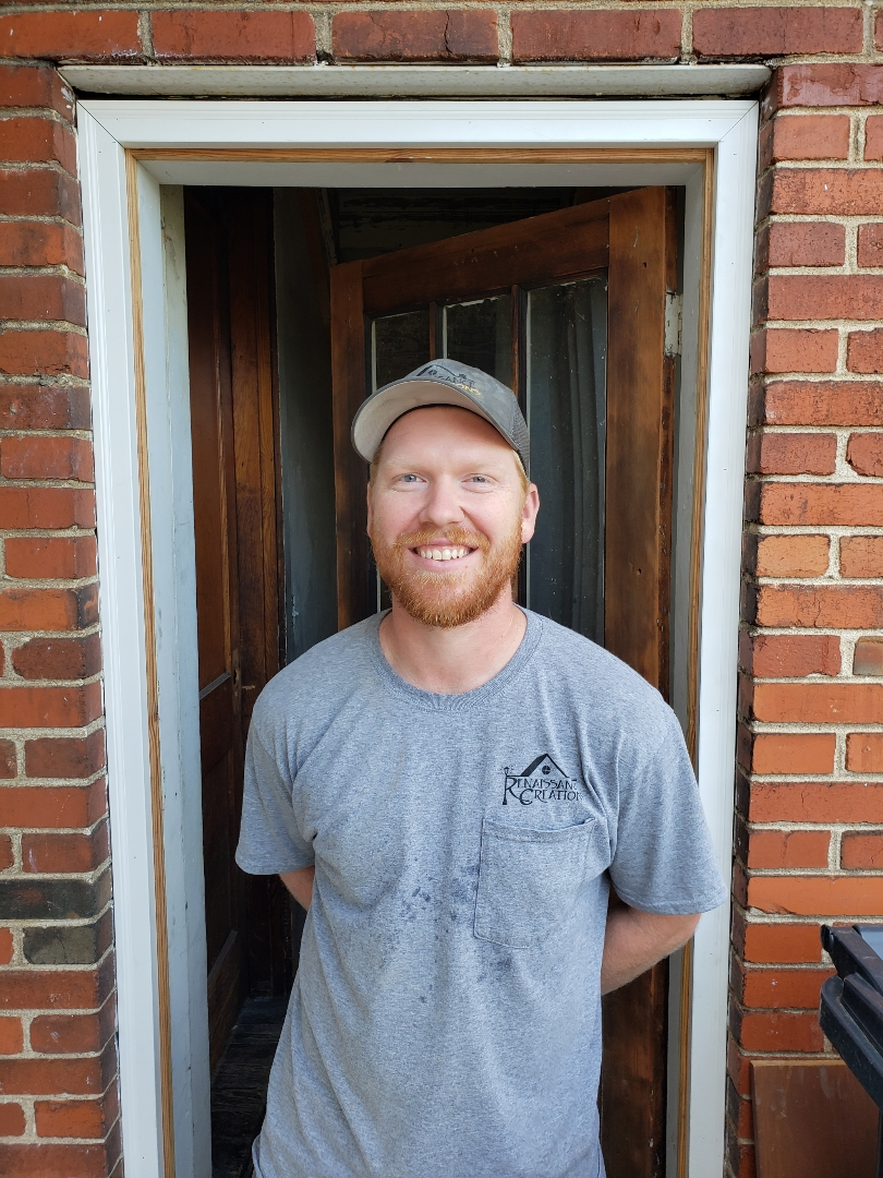 Ben Lawton   Our resident crawl space guru and a fine finish carpenter. He's a Hoosier transplant from southern Indiana. He loves Knoxville and Renaissance Creations and we love having him on our team.