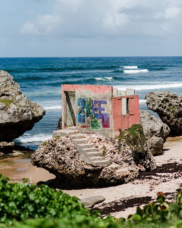 one of many favourite scenes from the east coast.  there is a feeling of past and present all wrapped into one.  #islandinspired #barbados