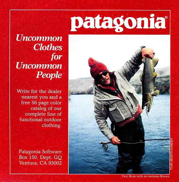1984 Patagonia catalog.