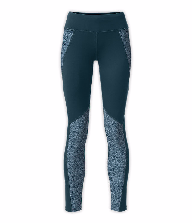 Stay active in cold conditions with these compressive midweight leggings that are crafted with four-way stretch and lightweight panels wrapped around the legs for streamlined coverage during aerobic activity.