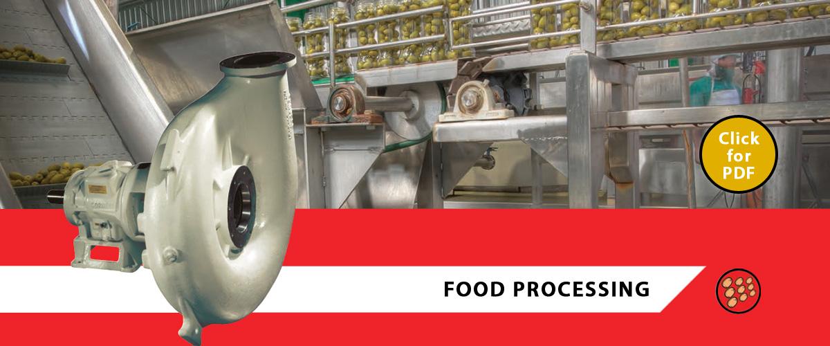 Food Processing Pumps