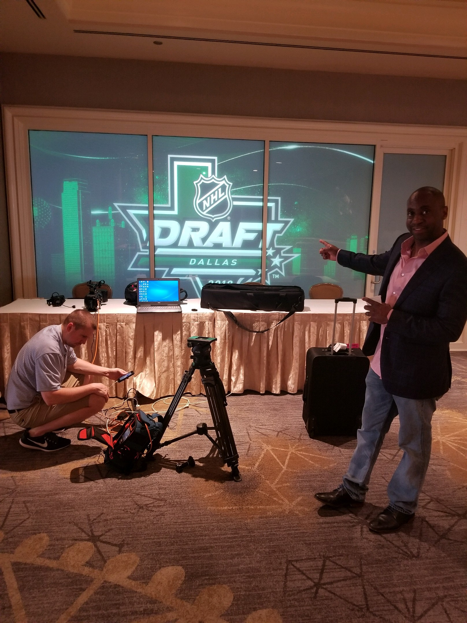 NHL Behind the Scenes Draft Event
