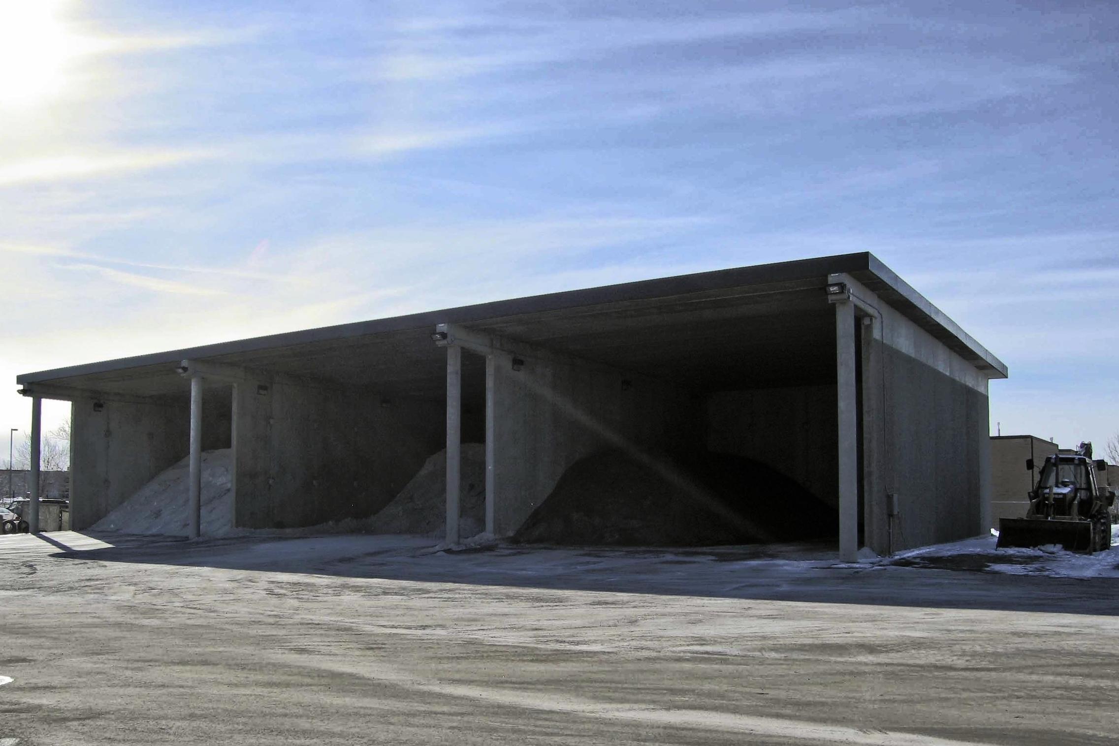 Hennepin County Osseo Salt / Sand Building