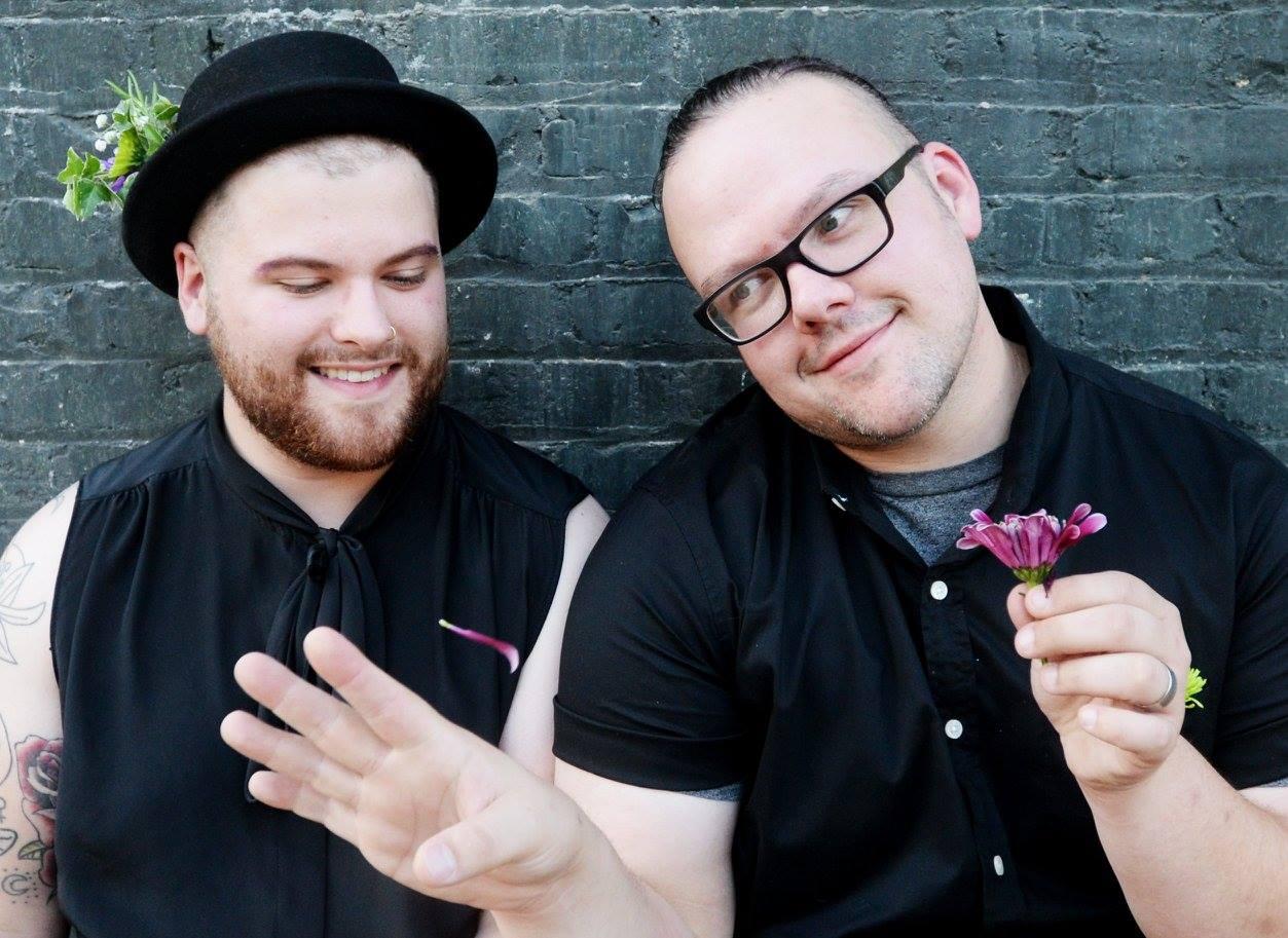 Photo by  Henrietta Wildsmith ; (left) Evan Stevens-Jones (right) Derick Stevens-Jones