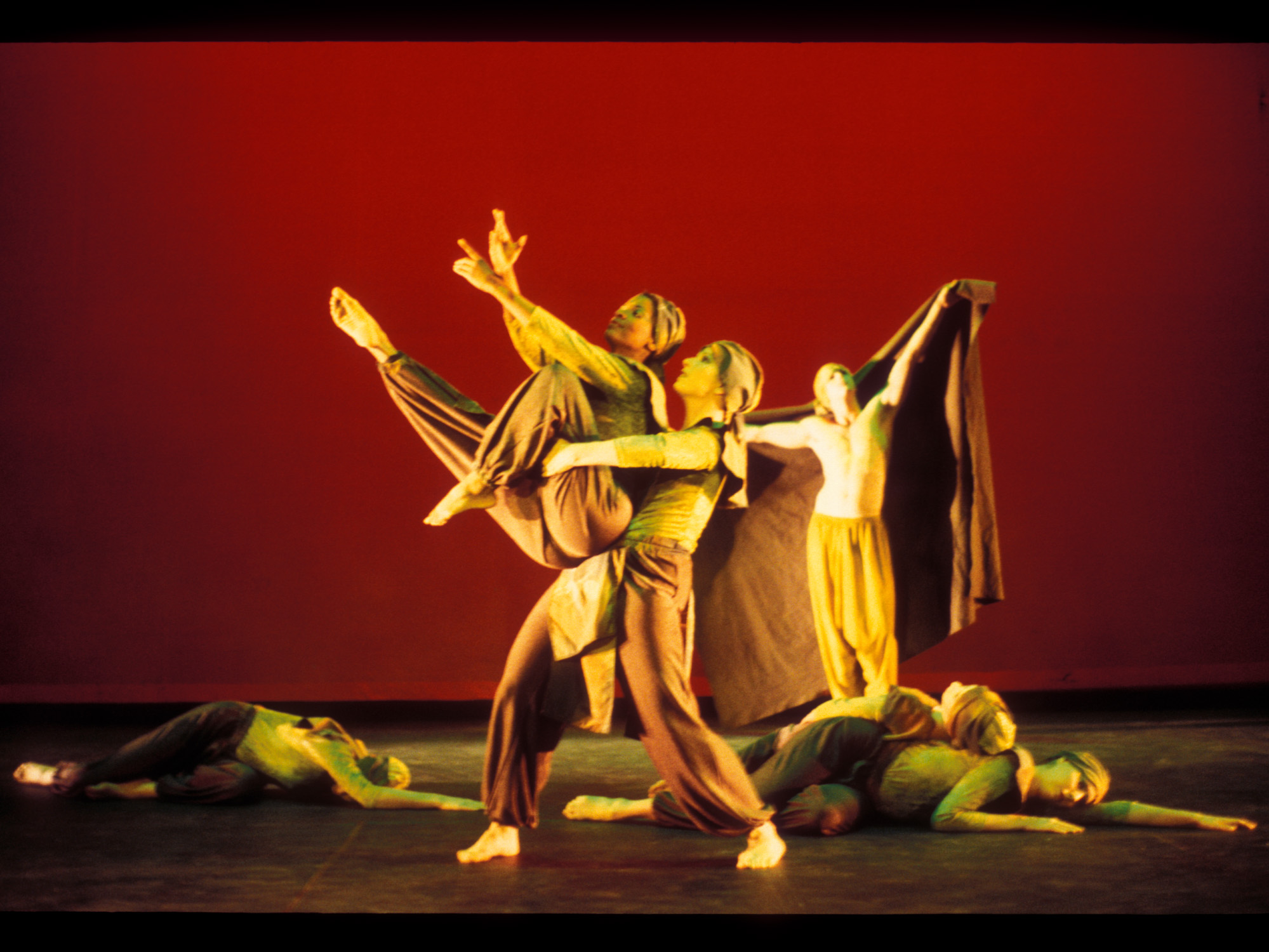 Photo by Billy Wilson * Of Moving Color's production of  Green .