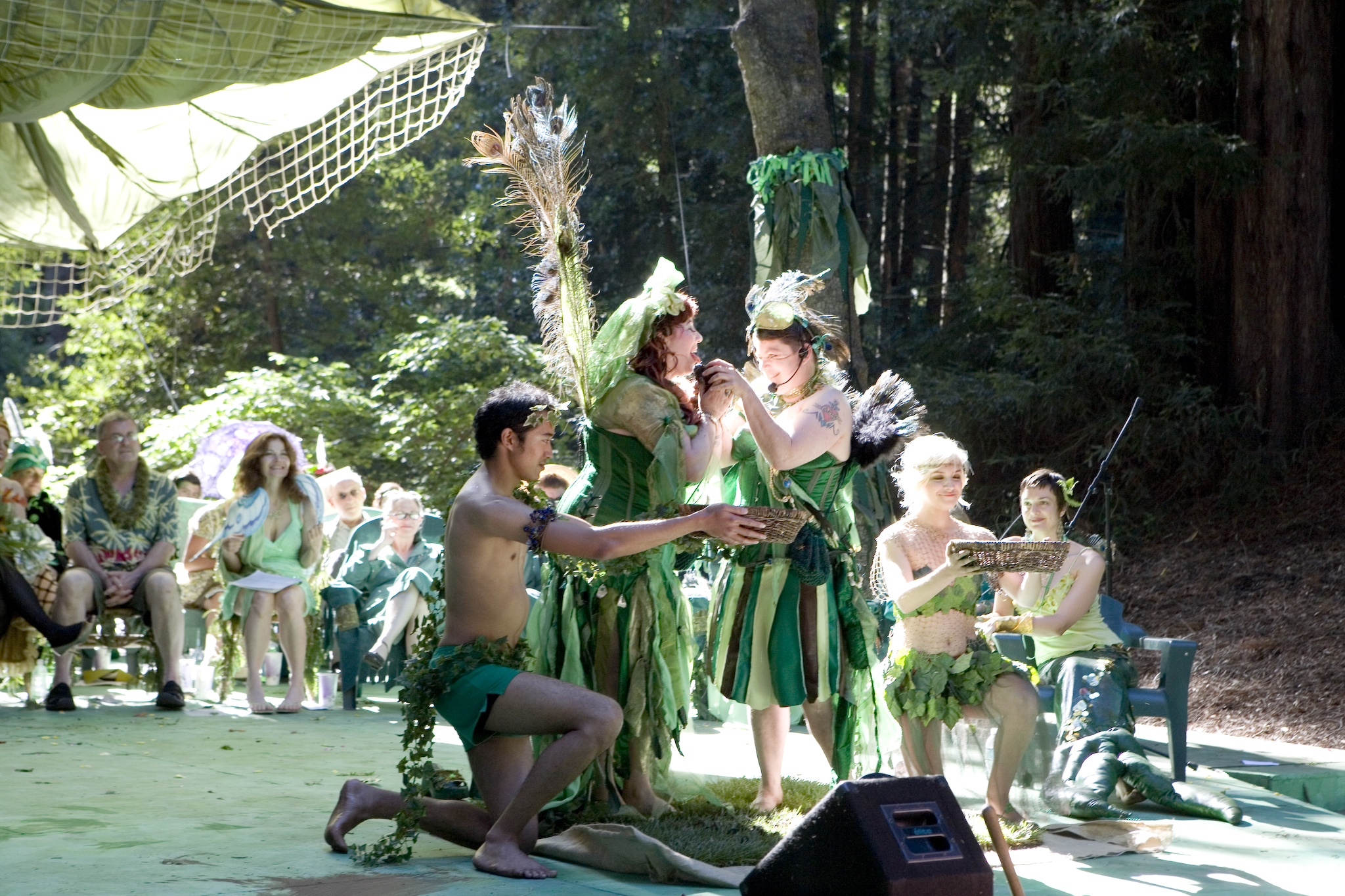 Photo by Lydia Daniller • The Love Art Lab Green Wedding to the Earth