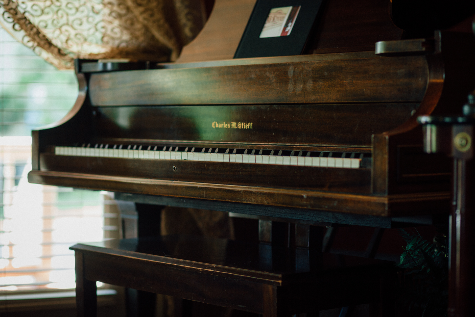 This 100 year-old baby grand needs to be played! Are you up for the task?