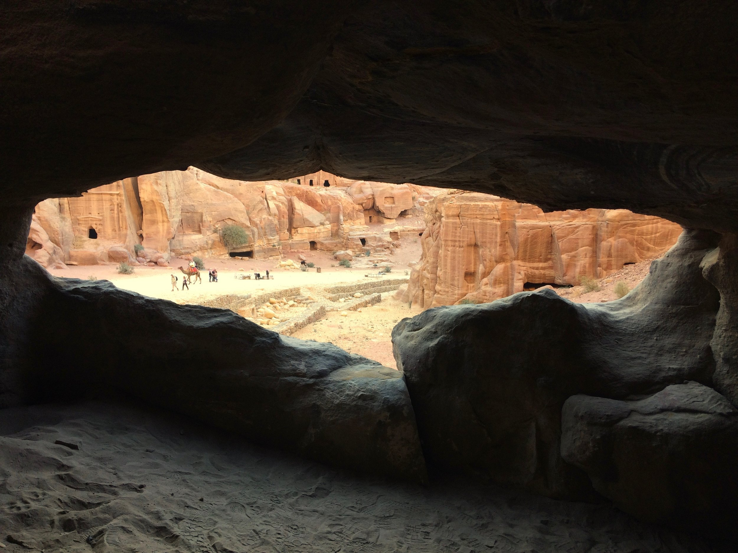 The ancient city of Petra was simply mind-blowing.