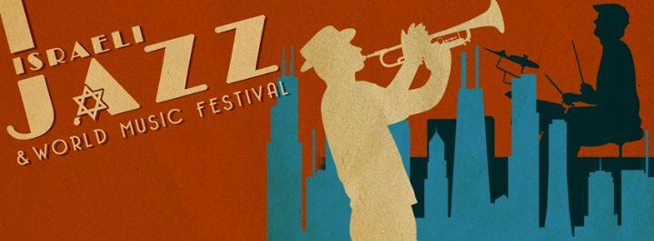 Poster for Israeli Jazz & World Music Festival.