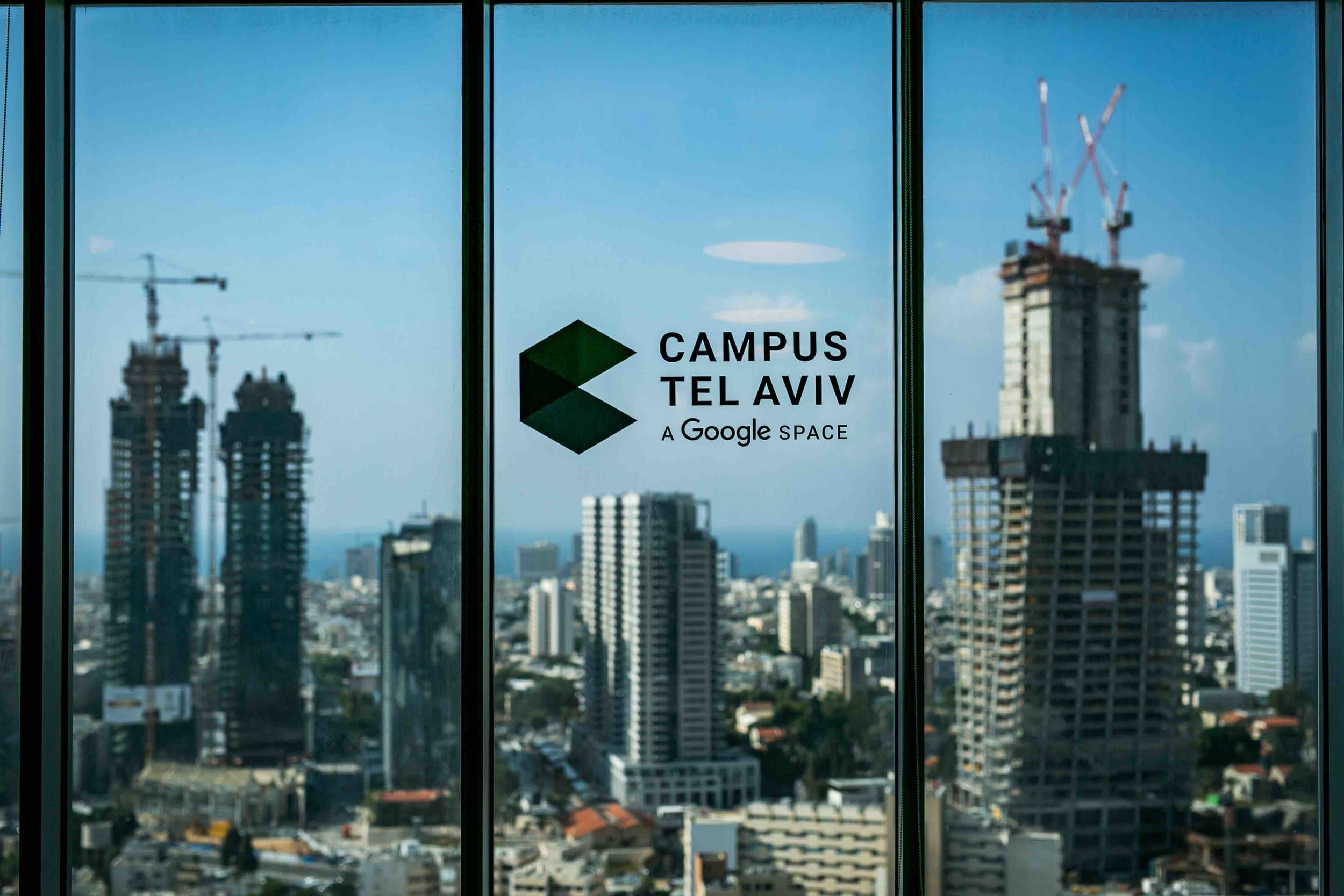 Campus Tel Aviv. Photo by Tomer Foltin courtesy Google Tel Aviv