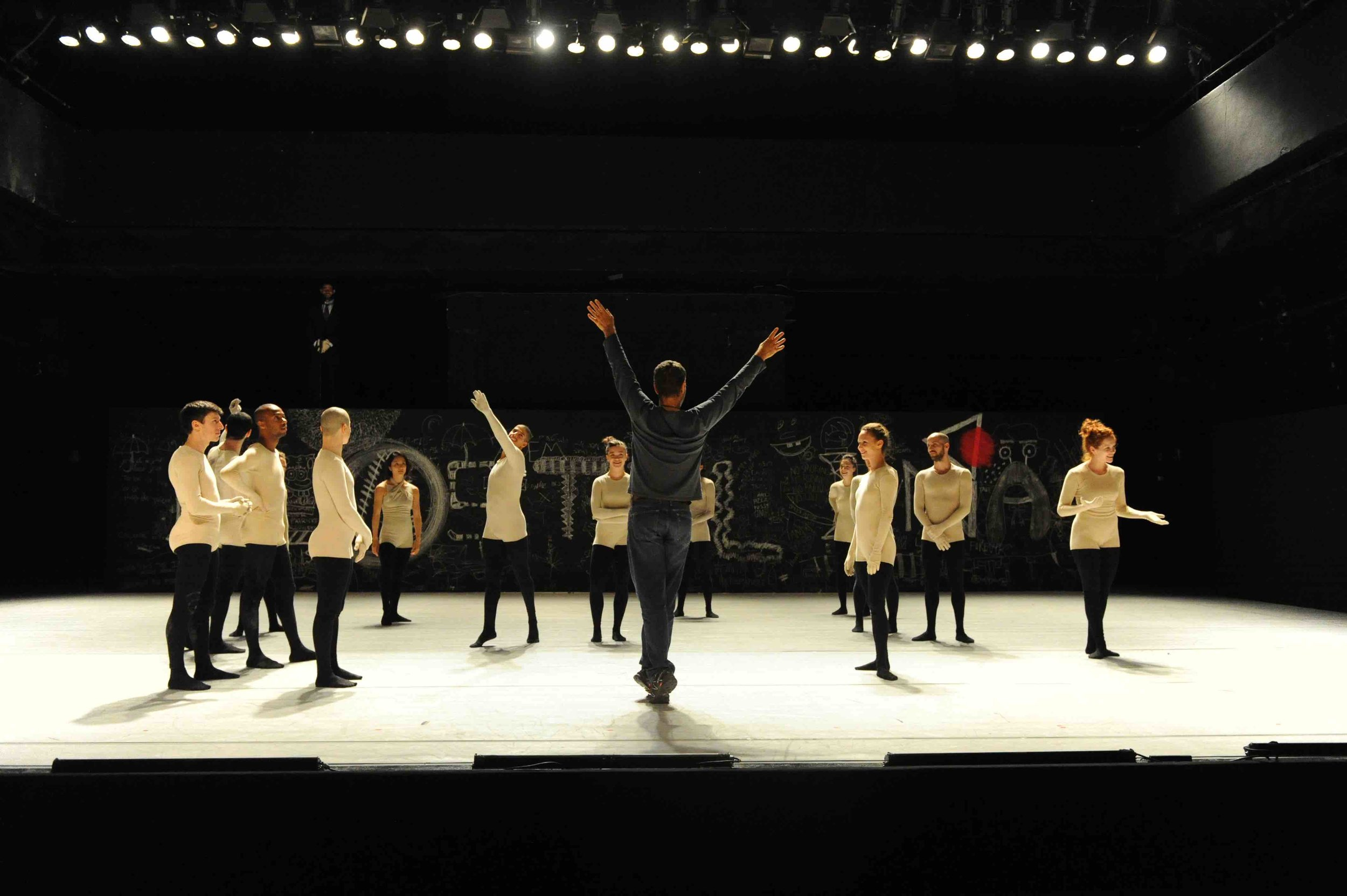"Ohad Naharin's ""Virus"". Photo by Gadi Dagon, courtesy Batsheva Dance Company"