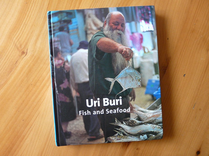 Uri Buri: Fish and Seafood  cookbook published by  Uri Buri Publishing