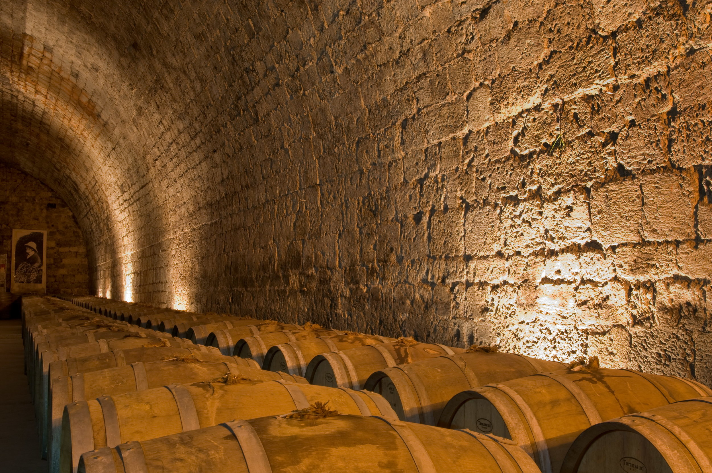 Wine barrels. Photo courtesy Carmel Winery