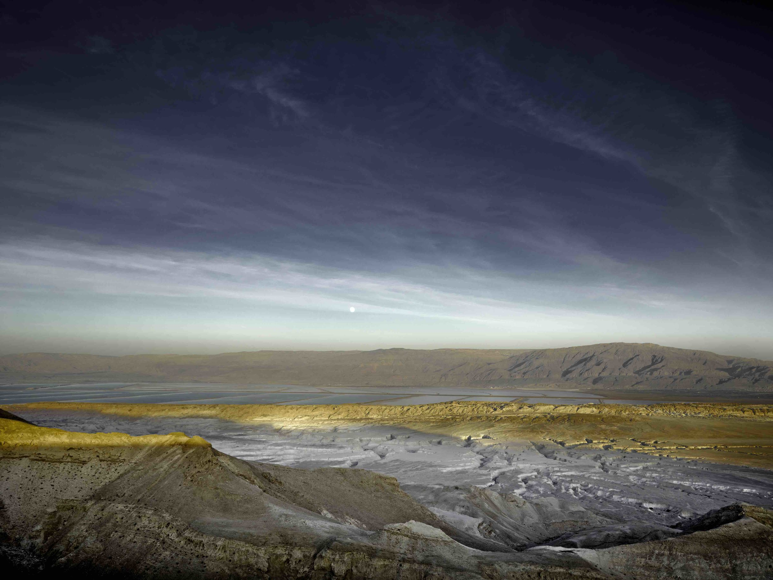 Nahal Pratzim and Dead Sea, Full Moon, 2012