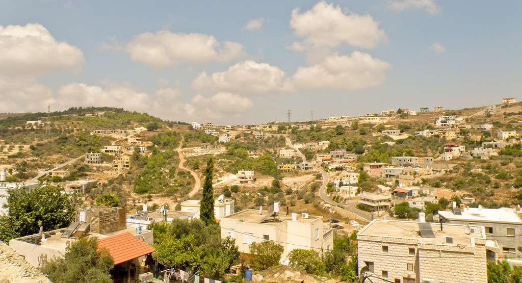 Druze town of Daliyat el-Carmel. Photo by Ron Almog, courtesy  Creative Commons