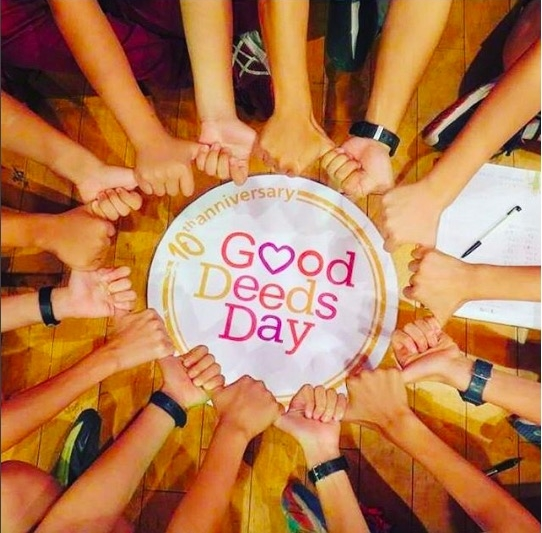 Good Deeds Day workshop at Kaohsiung City International Youth Volunteer Summer Camp, 2016. Photo courtesy Good Deeds Day