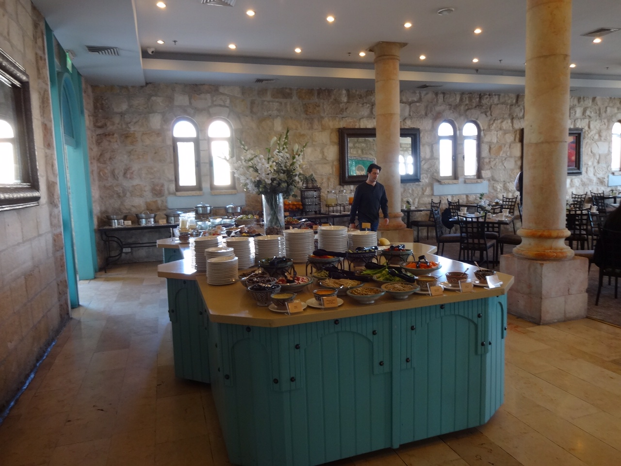 Breakfast at Mt Zion hotel