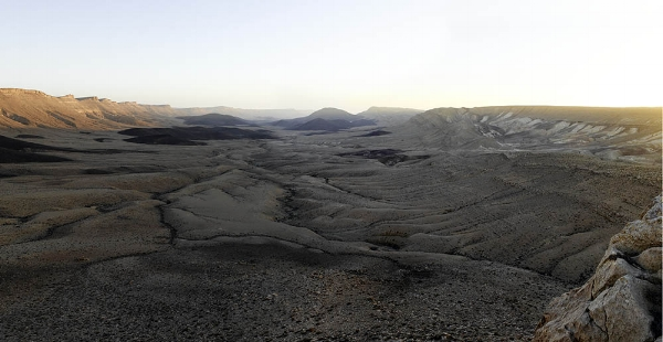 Negev Desert, Makhtesh Ramon, Sunrise, 2012. Photo by Neil Folberg