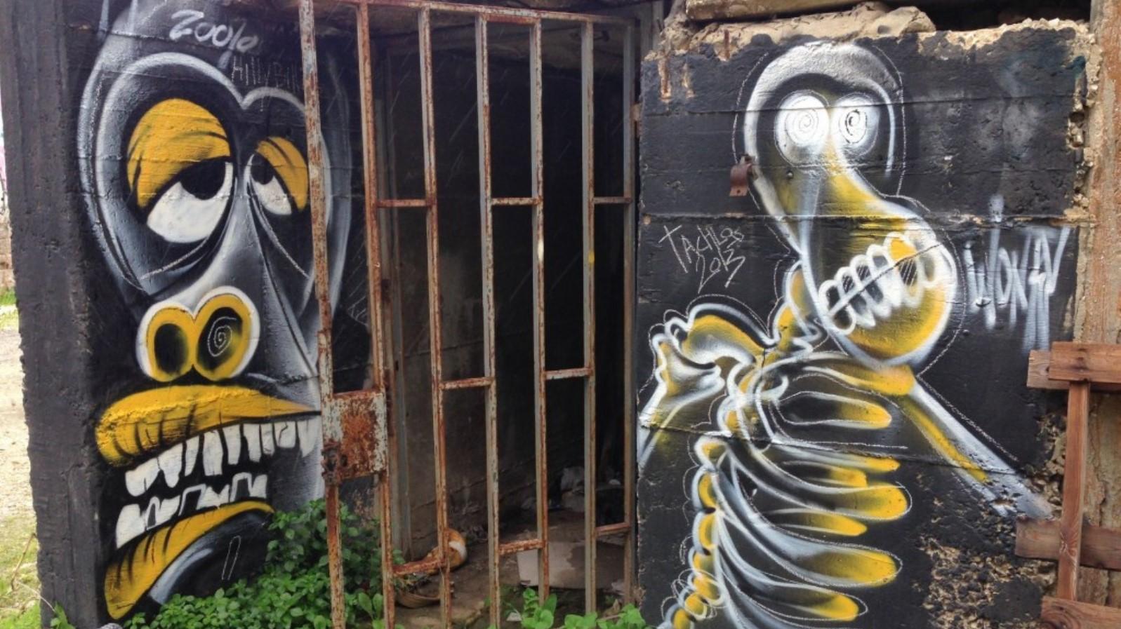 A Wonky Monky work. Photo via Elishavanotes.com