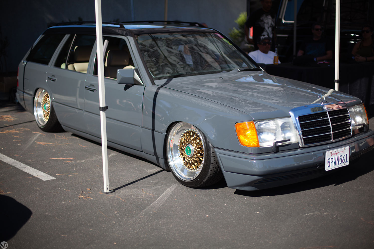 The Crooks & Castles generals Rob and Dennis both displayed one of their cars at MU.