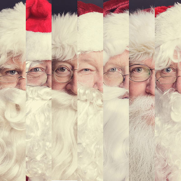 The Many Faces of Santa