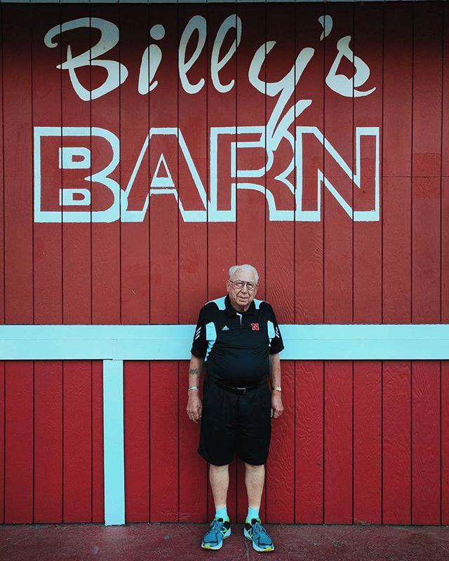 Uncle Ron at Billy's. #nebraskatovirginia #family #portrait