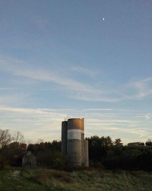 Old farm silo #lastlight