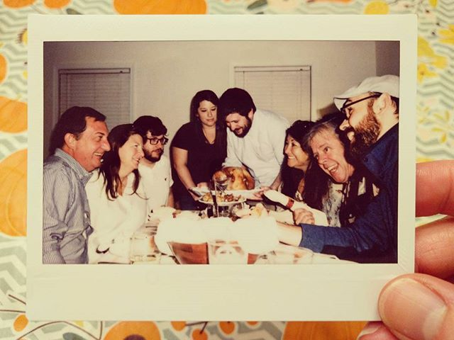 Grateful for family. Happy Thanksgiving!  #grateful #givethanks #family #turkeyday #instax #analoglove #homage