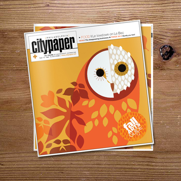 Fall Arts Guide - Cover <br> Philadelphia Citypaper